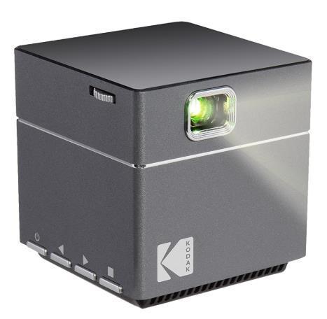 Videoproiector Kodak Cube, 100 Lumeni, 640 x 480, Contrast 1000, HDMI