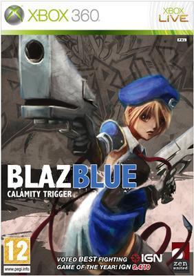 blazblue calamity trigger (xbox360)