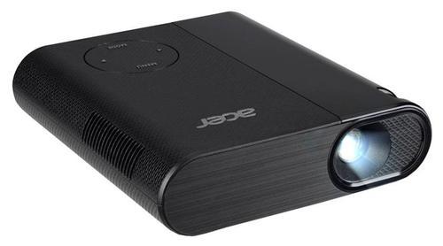 Videoproiector Acer C200, 200 lumeni, 854 x 480, Contrast 2.000:1, HDMI (Negru)