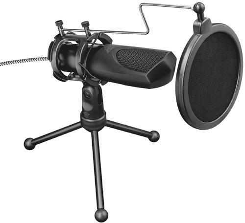 Microfon Trust GXT 232 Mantis Treaming (Negru)