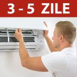 Instalare aer conditionat in 3-5 zile, pentru aparatele de 7000-12.000 BTU cu Kit de montaj inclus
