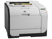 Imprimanta Refurbished Laser Color HP LaserJet Pro 400 M451dn, Duplex, Retea, USB, 21ppm