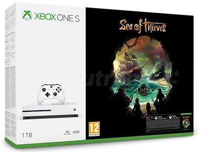 Imagine indisponibila pentru Consola Microsoft Xbox One S 1TB + Sea of Thieves