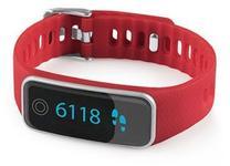 Bratara fitness Medisana ViFit touch 79487, Bluetooth, baterie reincarcabila (Rosu)