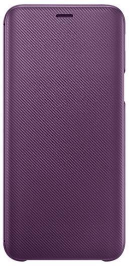 Husa Flip Cover Samsung EF-WJ600CEEGWW pentru Samsung Galaxy J6 (Violet)
