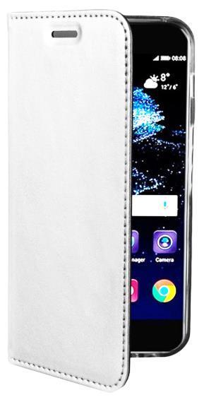 Husa Book Cover Zmeurino Card Slot pentru Samsung Galaxy S8 Plus (Alb)