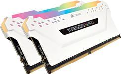 Memorie Corsair Vengeance RGB PRO, 2x8GB, DDR4, 3000 MHz (Alb)