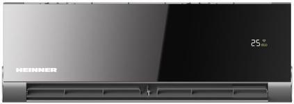 Aparat de aer conditionat Heinner HAC-18OWF-BK, 80000 BTU, Obsidian Inverter, Wi-Fi Control, Clasa A++ (Negru)