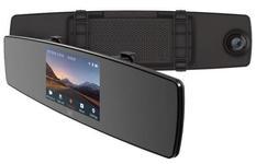 "Camera Video Auto Xiaomi YI Mirror Dash, IPS 4.3"", Filmare Full HD, 2MP, Wi-Fi (Negru)"