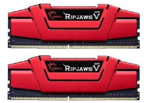 Memorie G.Skill Ripjaws V Red, DDR4, 2x4GB, 3000MHz, CL15