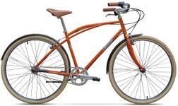 """Bicicleta Pegas Magistral, Cadru 22"""", 3 Viteze (Portocaliu)"""