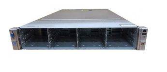 Server Refurbished HP ProLiant DL380e G8, 2U (2 x Procesor Intel® Octa Core Xeon E5-2450L (12M Cache, 1.8 GHz-2.3GHz) 16GB DDR3 ECC Reg, 14 x 3,5 inch bays, no HDD, Raid Controller HP SmartArray P420/1GB, iLO 4 Advanced, 2x Surse Hot Swap 750W)