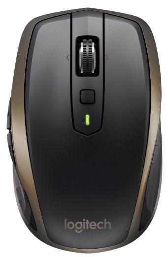 Mouse Wireless Logitech MX Anywhere 2 910-005215, 1600 DPI (Negru)