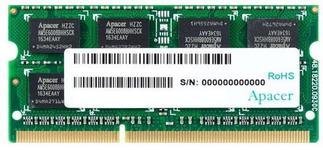 Memorie Apacer DV.08G2K.KAM DDR3, 8GB, 1600 MHz, CL11, 1.35v