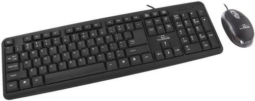 Kit Tastatura si Mouse Esperanza Salem TK106, USB 2.0 (Negru)