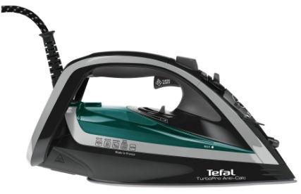 Fier de calcat Tefal Turbo Pro FV5640E0 Talpa Autoclean Airglide 300 ml 2600 W (Negru)