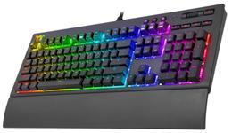 Tastatura Gaming Thermaltake TT Premium X1, Iluminare RGB (Negru)