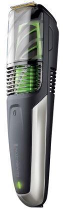 Aparat de tuns barba Remington Vacuum MB6850, Acumulator, Aspirare, 2 - 18 mm, Lame titan (Negru)