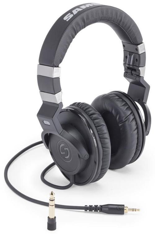 Casti Stereo Samson Z35 (Negru)