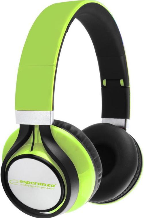 Casti Stereo ESPERANZA EH159G Freestyle (Verde)