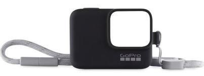 Husa de Protectie GoPro, snur inclus, pentru GoPro Hero 5/6/2018 (Negru)