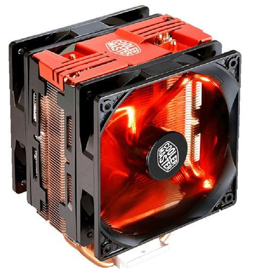 Cooler CPU Cooler Master Hyper 212, Iluminare LED (Negru/Rosu)
