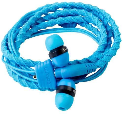 Casti In-Ear Wraps Classic 159849, Microfon (Albastru)