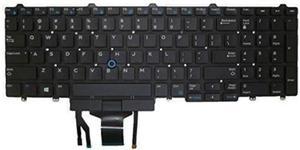 Tastatura Laptop MMD pentru Dell Latitude E5570 15/E5570 15 (Negru)