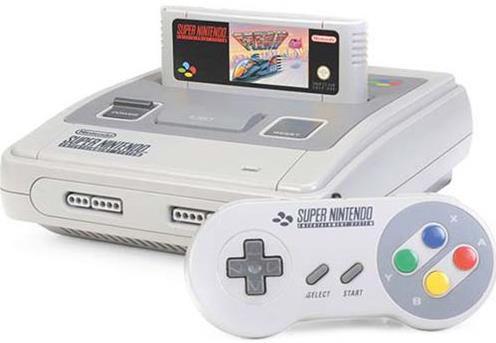 consola nintendo classic mini snes (alb/gri)