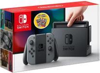 Consola Nintendo Switch + Mario Tennis Aces + NBA 2k18 (Negru/Gri)