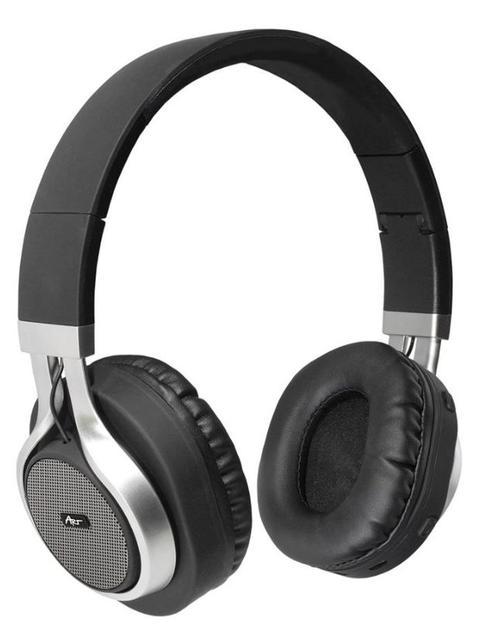 Casti Stereo Art ZISL OI-E1, Bluetooth, Microfon (Negru/Argintiu)