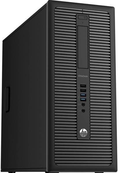 Calculator Sistem PC Refurbished HP EliteDesk 800 G1 Tower (Procesor Intel® Core™ i7-4770 (8M Cache, up to 3.90 GHz), 8GB, 500GB HDD, DVD-RW, Intel® HD Graphics 4600, Win 10 Home, Negru)