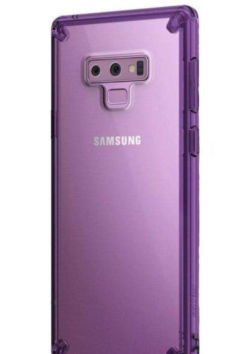 Protectie spate Ringke Fusion 8809611509498 pentru Samsung Galaxy Note 9 (Violet deschis) imagine