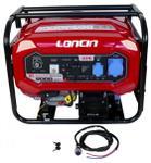 Generator Curent Electric Loncin LC8000D-DCS, Benzina, 7 KW, 15 CP, 220 V cu Automatizare
