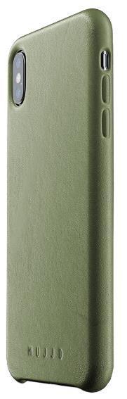 Protectie spate Mujjo pentru Apple iPhone XS Max (Verde)