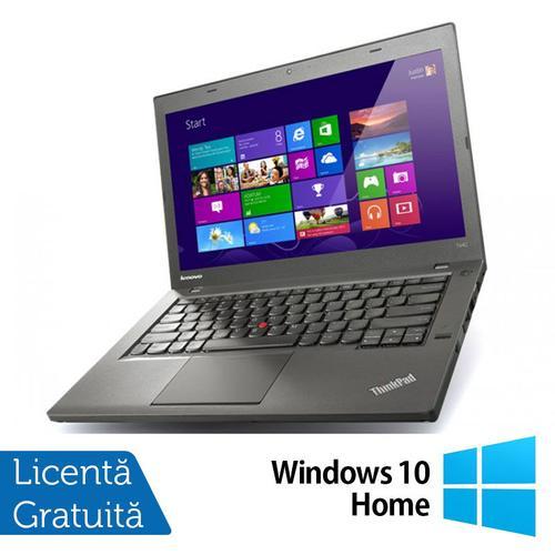 Laptop Refurbished LENOVO ThinkPad T440 (Procesor Intel® Core™ i5-4300U (3M Cache, up to 2.90 GHz), 14inch, 4GB, 500GB HDD, 1600x900, Intel® HD Graphics 4400, Win 10 Home)