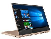 Laptop 2in1 Lenovo IdeaPad Yoga 730 (Procesor Intel® Core™ i7-8550U (8M Cache, up to 4.00 GHz), Kaby Lake R, 13.3 FHD, Touch, 8GB, 256GB SSD, Intel UHD Graphics 620, Wireless AC, Tastatura iluminata, Win10 Home, FPR, Auriu)