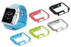 Husa Protectie Trust Slim Case pentru Apple Watch 38mm, 5 bucati