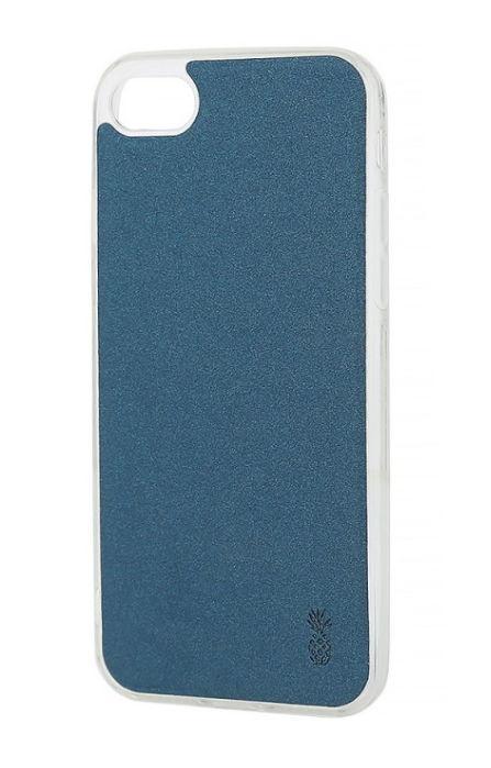 Protectie Spate Lemontti Vellur LMSVIPH8AB pentru iPhone 8/7 (Albastru)