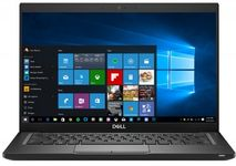 "Ultrabook™ Dell Latitude 7490 (Procesor Intel® Core™ i5-8350U (6M Cache, up to 3.60 GHz), Kaby Lake R, 14""FHD, 8GB, 512GB SSD, Intel® Graphics UHD 620, FPR, Tastatura Iluminata, Win10 Pro, Negru)"