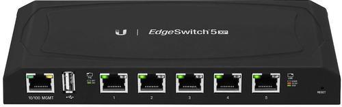 Switch Ubiquiti EdgeSwitch ES-5XP, Gigabit, 5 Porturi