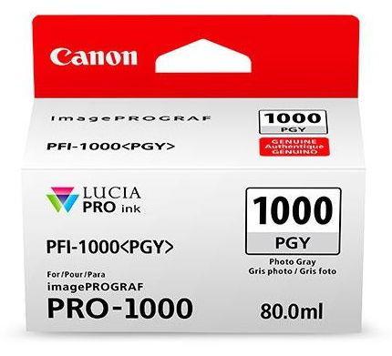 Cartus Cerneala Canon PFI-1000PGY, 80 ml (Gri) poza 2021