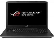Laptop Gaming ASUS ROG GL703GE-EE032 (Procesor Intel® Core™ i7-8750H (9M Cache, up to 4.10 GHz) Coffee Lake, 17.3 FHD, 16GB, 256GB SSD + 1TB HDD@7200RPM, nVidia GeForce GTX 1050Ti @4GB, Wireless AC, Tastatura iluminata, Free DOS, Negru)