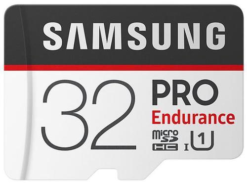 Card de memorie Samsung MicroSDXC Endurance, 32GB, Clasa 10, UHS-I (U1) + Adaptor SD