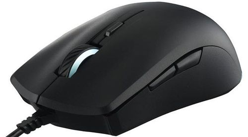 Mouse Gaming CoolerMaster MasterMouse Lite S, 2000 DPI, Optic (Negru)