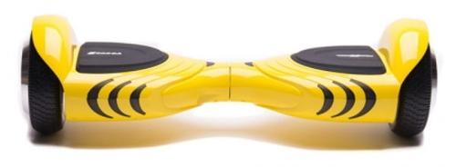 Scooter electric (hoverboard) Freewheel Vogue, Autonomie 10-15 km, Viteza 12 km/h, Motor 2 x 250 W (Galben)