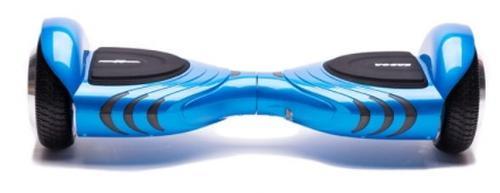 Scooter electric (hoverboard) Freewheel Vogue, Autonomie 10-15 km, Viteza 12 km/h, Motor 2 x 250 W (Albastru)
