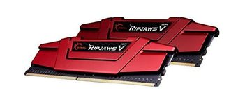 Memorie Ripjaws V Red, DDR4, 2x8GB, 3200MHz, CL15