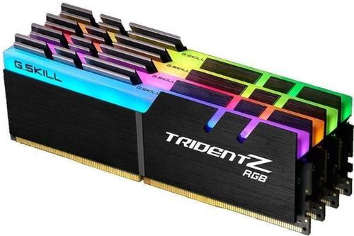 Memorie G.Skill Trident Z RGB, DDR4, 4x8GB, 3600MHz, CL19, 1.35V