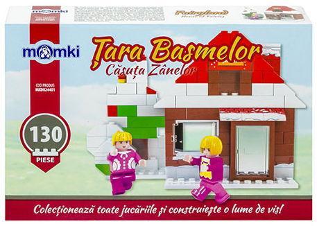 Set de constructie Momki Casuta zanelor MKDR24401, 130 piese (Multicolor)